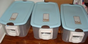 Microchip Cat Flap feed boxes