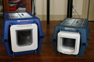 Microchip Cat Flap travel boxes