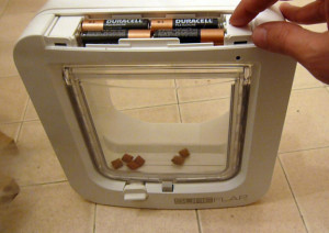 Sureflap Microchip Cat Flap batteries